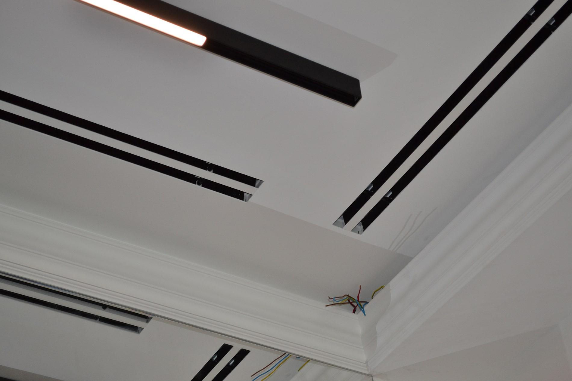 Стельові дифузори TROX, через які повітря потрапляє у кімнату