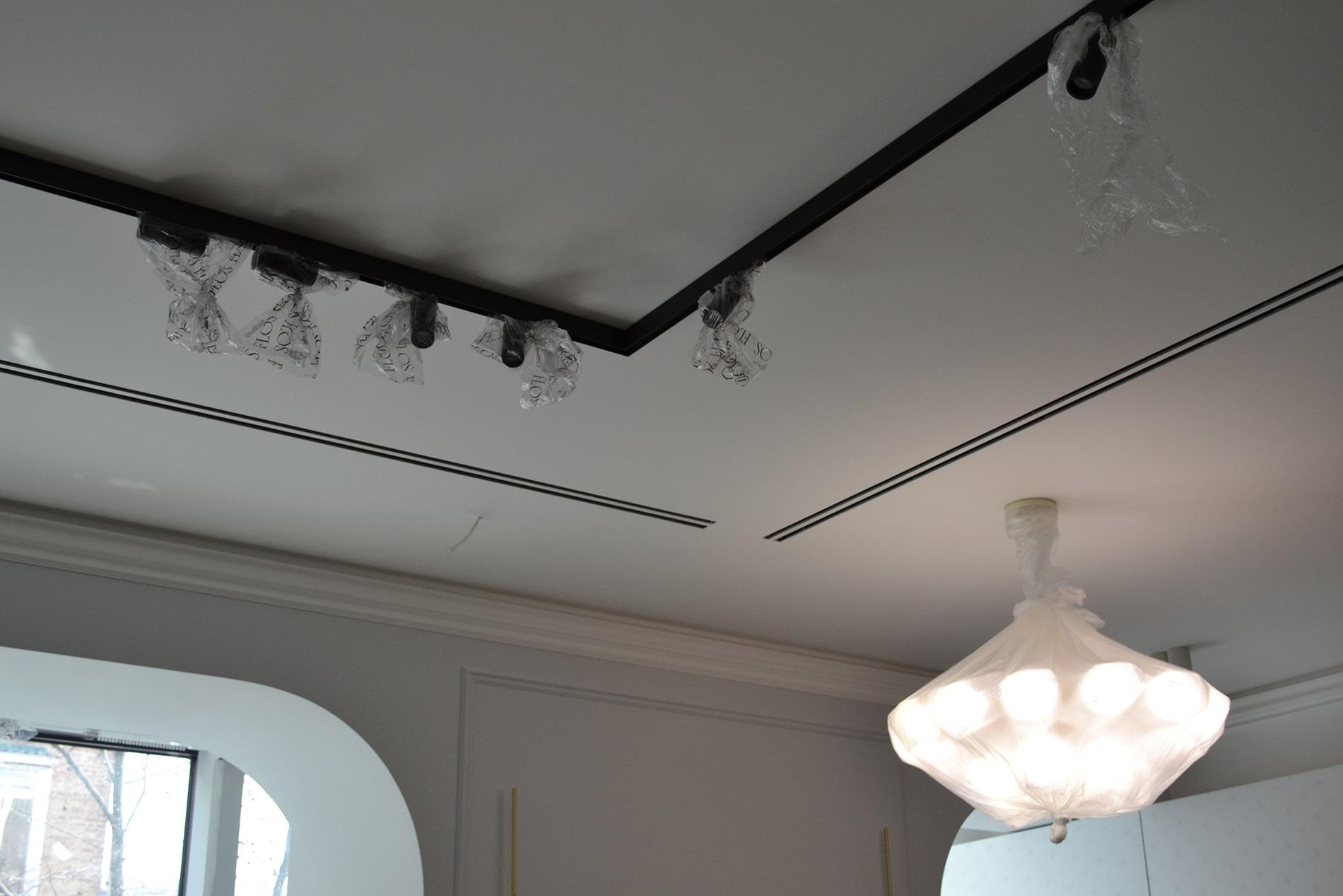 Організація освітлення, вентиляції і кондиціонування у зоні вітальні-кухні