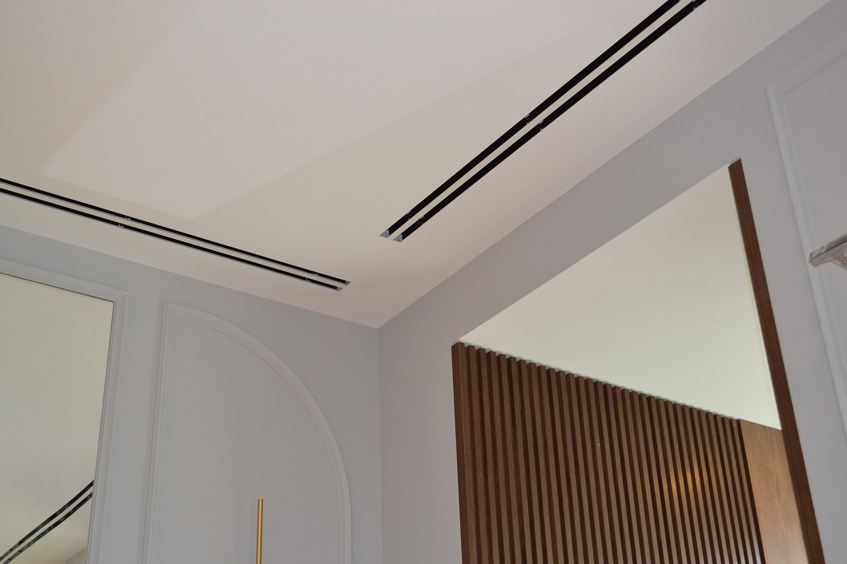 Припливні дифузори TROX в вітальні