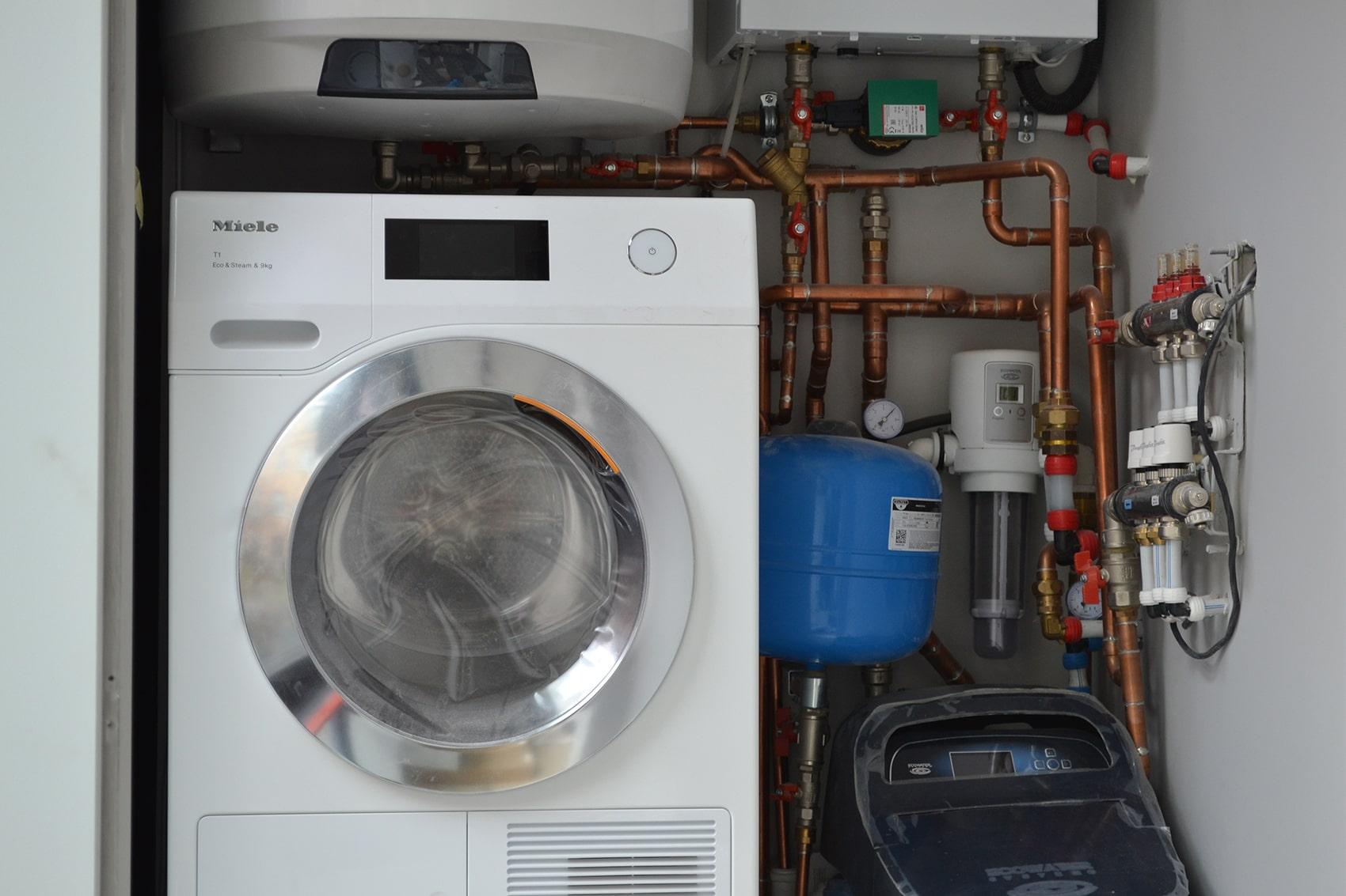 Системи опалення та водопостачання у влаштованій міні-котельні